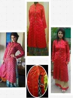 Pure banarasi silk long kurti, tuned with pure cotton blue long skirt.  Can be customized in any color. To book your order/any query, contact us: call/whatsapp on +91 9833617147.  Like us? Follow us! https://m.facebook.com/VastranDecorbySoumiyaKhanna  #Fashion #fashionista #fashionblogger #bollywoodfashion #indian #bollywood #stylediva #diva #pretty #boutique #designer #clothing #clothingline #clothingbrand #womenswear #womensbrand #womensfashion #garments #clothes #clothesforsale 4…