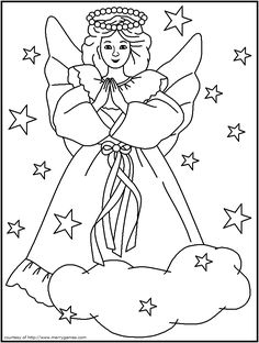 82 best Christmas coloring pages 1 images on Pinterest in ...