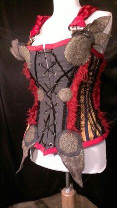Thor corset steampunk Thor Costume, Comic Con Costumes, Steampunk Corset, Costume Ideas, Christmas Stockings, Cosplay, Superhero, Holiday Decor, Needlepoint Christmas Stockings
