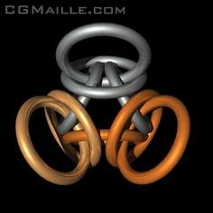 CGMaille.com - Turkish Orbital Chain Pattern, very cool!