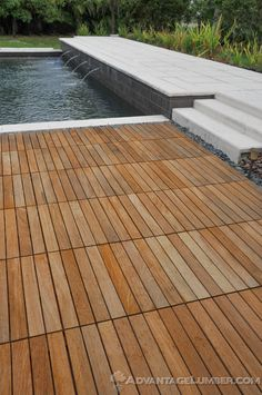 Advantage Ipe Deck Tiles Will Give All The Durability Resilience As Long Length