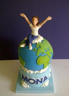 On Top of the World! - Cake by #CakeyCake www.facebook.com/childscakeycake