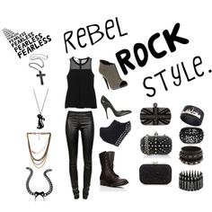 """""""rock style"""" by virid-1 on Polyvore"""