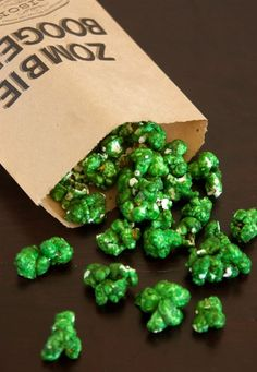 zombie boogers Use Screaming Yellow Zonker recipe and add green food coloring