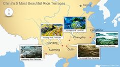 Rice terraces map