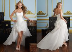 Para una novia fresca y moderna! Ref. 6721.