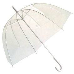 #3: Totes Luggage Bubble Umbrella