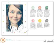 Ali Edwards | Blog: AE Digital Creative Team | Me Digital Story Kit™