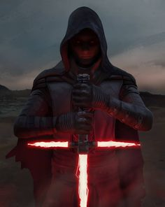 "Sith ""Kylo Ren"" from Star Wars: The Force Awakens by Rich Pearce #StarWars #KyloRen"