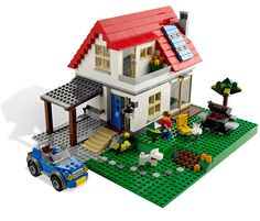 lego city ideas | LEGO Creator Hillside House (5771)