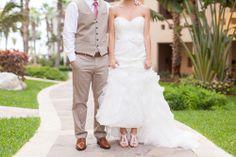 Wedding shoes and bride and groom portraits by Destination Wedding Photographers TréCreative trecreative.com/