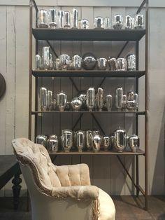 Collection de verres mercurisés