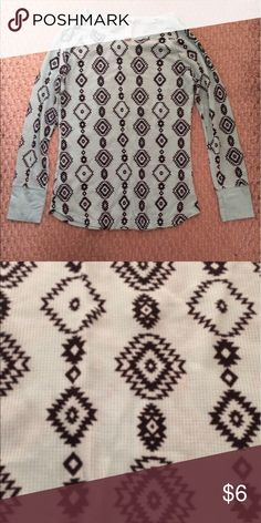 Long sleeve top Thermal material long sleeve top. Size XL but does fit small. NWOT Tops Tees - Long Sleeve