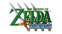The Legend of Zelda: Four Swords Anniversary Edition (2011, DSiWare) - EU/US logo