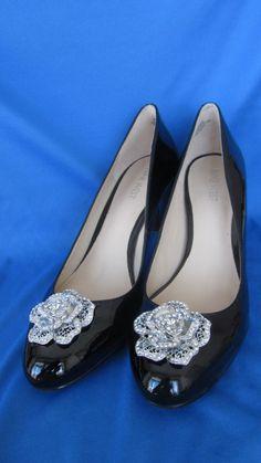 Dazzling shoe clips