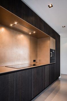 "Medie Interieurarchitectuur - Unieke toepassing ""Embossed"" in keuken - Hoog ■ Exclusieve woon- en tuin inspiratie."