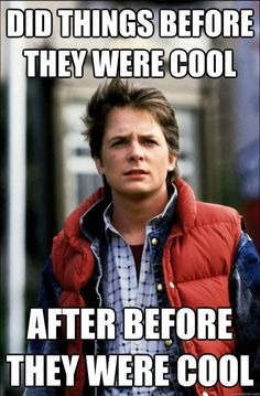 Funny pictures about Hipster McFly. Oh, and cool pics about Hipster McFly. Also, Hipster McFly photos. Marty Mcfly, Back In The 90s, Back To The Future, Movie Characters, Great Movies, Awesome Movies, Movies And Tv Shows, Movie Stars, I Laughed