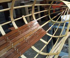 Skin-On-Frame Canoe ( Free Lassie )