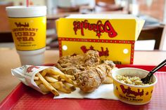 Bojangles! I am in withdrawal, def getting some when im home for break