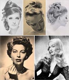 #vintage#hairstyles