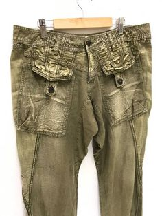 7905c0f545 Marithe Francois Girbaud Regular Multi Pockets Military Marithe Francois  Girbaud Size 33 - Casual Pants for