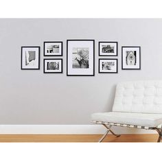 BuyGallery Perfect Frame Set, Black Online at johnlewis.com