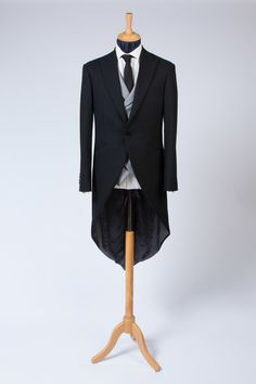 The Morning Coat with double breasted waistcoat