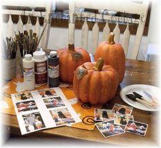 Photo pumpkins(How-to)