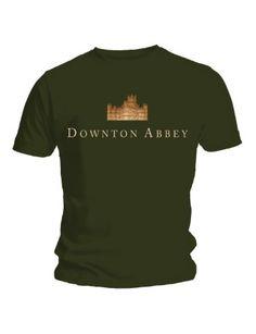 Downton Abbey Logo - unisex Green T-shirt: Amazon.co.uk: Clothing