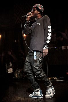 Joey Bada$$ -  A very young, talented american hip hop artist.