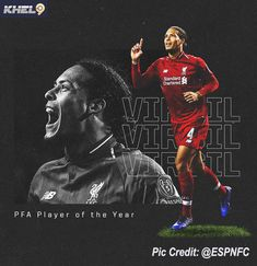 PFA player of the year awards: Dutch duo Virgil van Dijk and Vivianne Miedema have won the Professional Footballers' Association Player. Premier League Winners, Football Results, Premier League Fixtures, Liverpool Team, Football Score, Soccer Predictions, Virgil Van Dijk, Arsenal Players, League Gaming