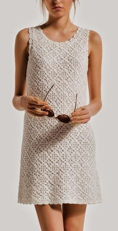crochet dress from: www.yandex