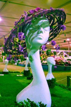 flower hat by Joe Massie