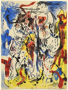 Jackson POLLOCK | Untitled.  Art Experience NYC  www.artexperiencenyc.com/social_login/?utm_source=pinterest_medium=pins_content=pinterest_pins_campaign=pinterest_initial