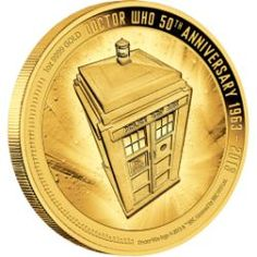 - WOW     -      Doctor Who 50th Anniversary - 1oz Gold Proof Coin - 2013
