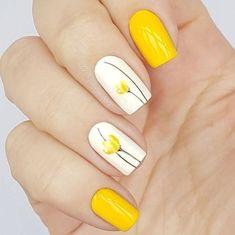 50 Eye-Catching Summer Nail Art Designs #nailart
