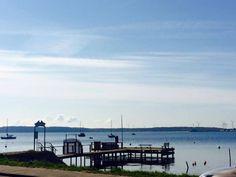 #Urlaub an der #Ostsee - Der Eckernförder Hafen an einem schönen, sonnigen Frühlingstag ☼☼