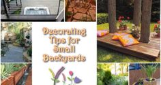 Decorating Tips for Small Backyards