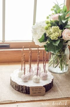 Sweet & Simple Woodland Floral First Birthday Party
