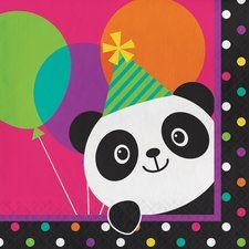 Panda Party Lunch Napkins (16 ct)