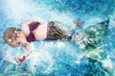 Ensaio fotográfico infantil de Sereia | Roberta Guido