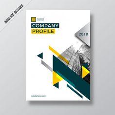del profilo aziendale di design i. Brochure Design Layouts, Graphic Design Brochure, Corporate Brochure Design, Layout Design, Page Design, Cover Design, Design Design, 2020 Design, Design Trends