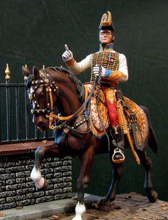 Officier d'ordonnance de Murat roi de Naples. By Maurizio Berselli