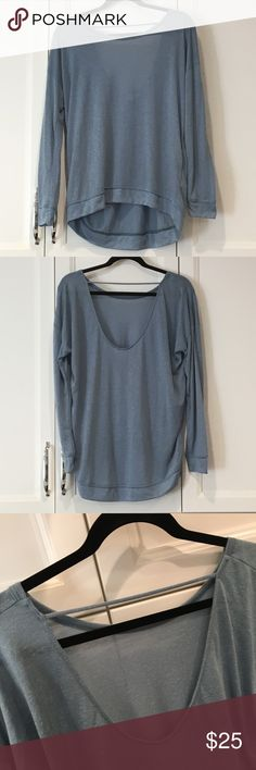 bp Dolman Pullover with Low Back Good condition. Some minor pilling. High-low design (shown in picture). bp Tops