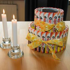 Duplo-Torte als #Geschenkverpackung zum #Geburtstag