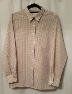 2fc8704ed06 ORVIS Plaid Long Sleeved Shirt - Wrinkle Free - Ladies Size 16  fashion   clothing  shoes  accessories  womensclothing  tops (ebay link)