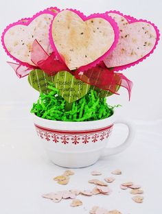 Positively Splendid {Crafts, Sewing, Recipes and Home Decor}: A Valentine Project for Little Ones
