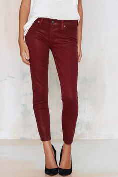 13 Pairs of Colored Jeans That Remind You That Denim Doesn't Always Mean Blue