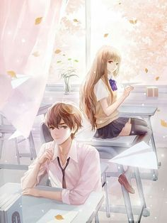 Manga is simply the Japanese version of comic books or graphic novels. Anime Cupples, Anime Kawaii, Anime Guys, Couple Manga, Anime Love Couple, Anime Couples Drawings, Anime Couples Manga, Bts Art, Anime Triste