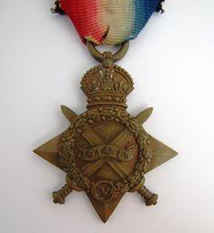 Original WW1 1914 - 1915 War Medal Star S2SR-03882 Pte H Blatcher ASC - The Collectors Bag